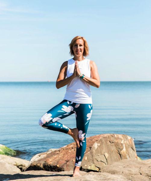 Melanie Yoga Pose